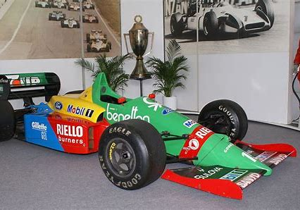 Image result for benetton f1 car