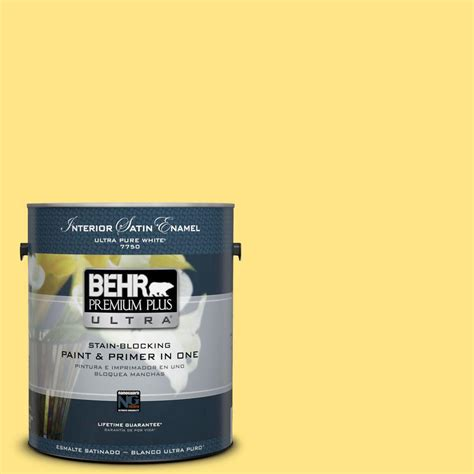 behr premium plus ultra gal b daffodil yellow