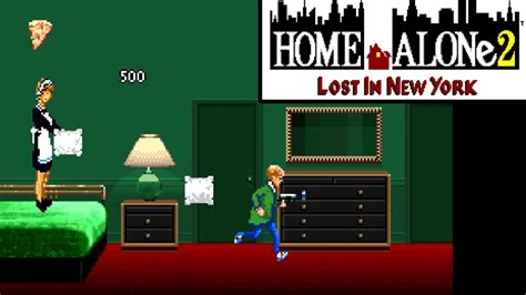 HOME ALONE LOST IN NEW YORK SNES FPS YOUTUBE