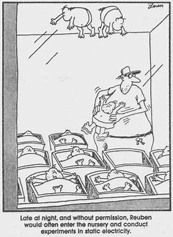 Image result for gary larson scientist experiments