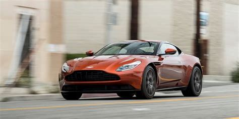 aston martin db test review car and driver