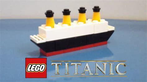 Roblox Sinking Ship Id Youtube Minititanic Lego Tutorials Mini Lego Titanic Youtube Outdated Titanic V 1 Minecraft Project