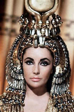 Image result for image liz taylor as cleopatra