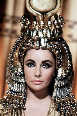 Image result for images liz taylor as cleopatra