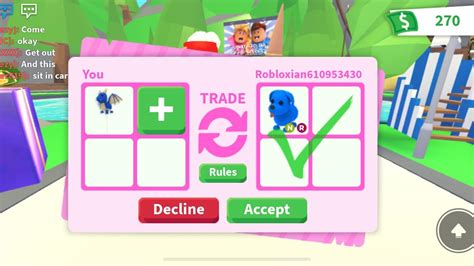 Camper Roblox Id Robux Generator Phone Its Roblox Trading Trading Up Next Level Adopt Me Trading Game Roblox Roblox Trading 2 Sale And Profits Youtube