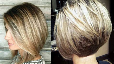 amazing bob hairstyles for women with thin hair fine