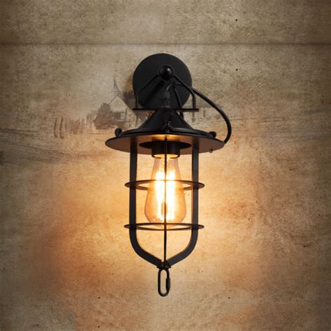 black vintage restaurant wall lamps bedroom sconce wall