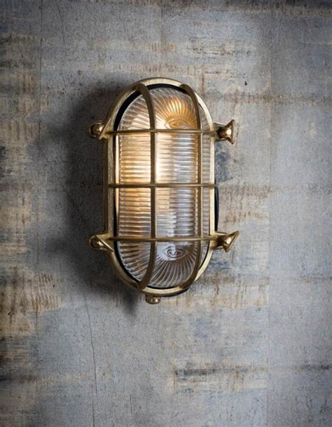 large oval industrial wall light the forest co