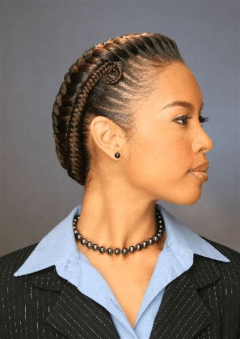 HOTTEST NATURAL HAIR BRAIDS STYLES FOR BLACK WOMEN IN
