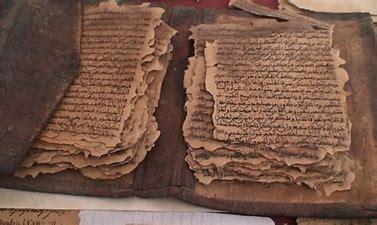 Resultado de imagen de escritos antiguos