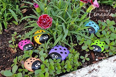 Image result for flowers on pebbles kids