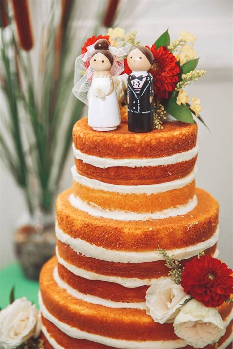real wedding cakes that may inspire you to diy