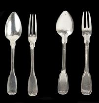 Image result for fork and spoon repeating patterns using household objects