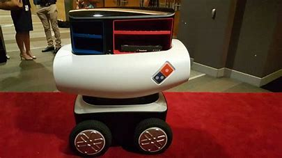 Image result for domino's pizza robot