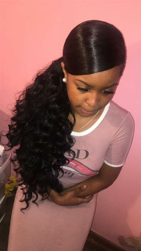 black girl ponytail styles ponytail hairstyles for