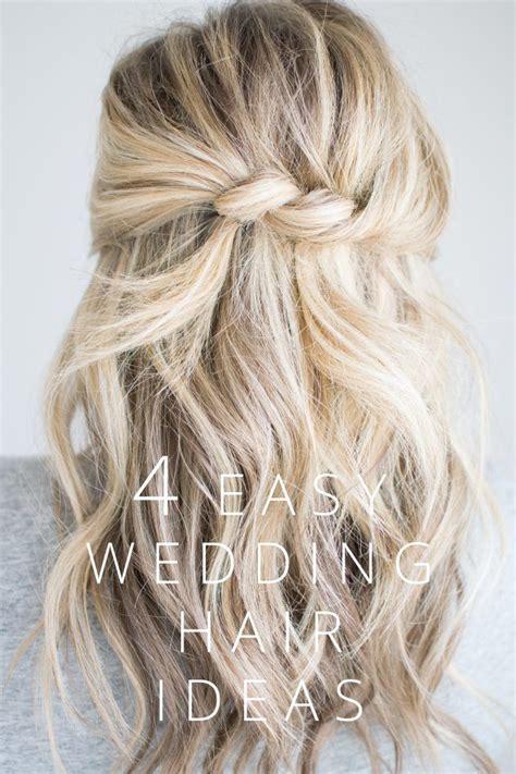 EASY WEDDING HAIR IDEAS WEDDING GUEST HAIRSTYLES
