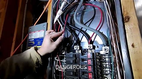 wiring a portable generator into a house how not to do it