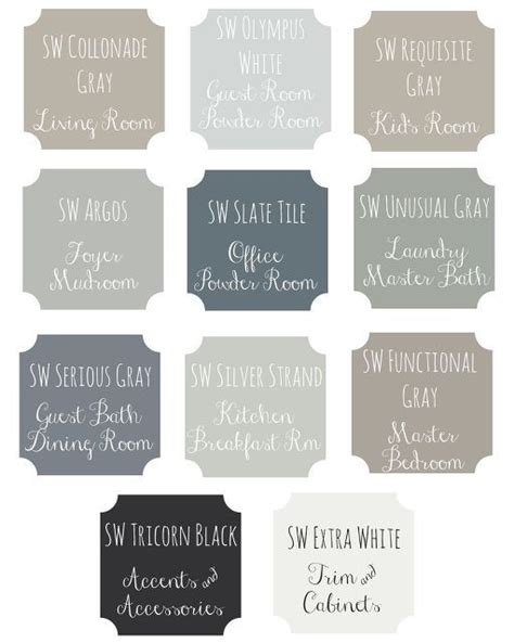 whole house paint scheme stormy skies paint colors for