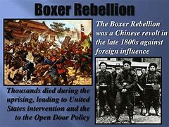 Image result for United States fight Boxer rebellion in China.