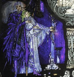 Image result for harry clarke the eve of st agnes