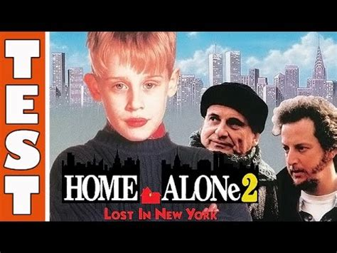TEST HOME ALONE LOST IN NEW YORK MAMAN J AI