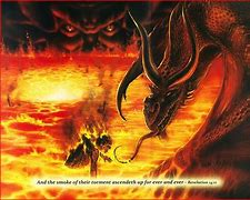 Image result for satan has the key to the bottomless pit of hell gif