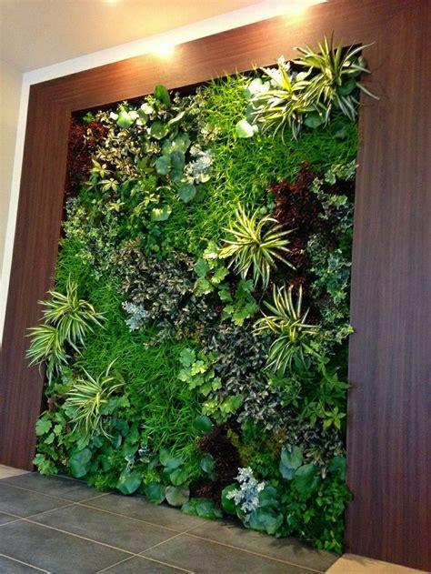 echtpflanzen vertikaler garten vertical garden wall