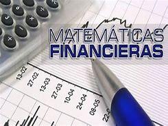 Resultado de imagen de matematicas financieras