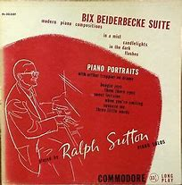 Image result for Ralph Sutton bix Beiderbecke Suite