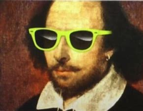 Image result for images of shakespeare with sunglasses