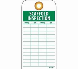 Image result for Scaffold builders daily visual inspections and light maintenance