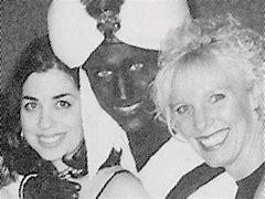 Image result for justin's black face