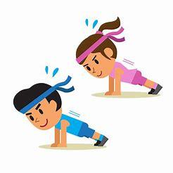 Image result for exercise slip art