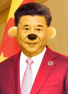 Image result for xi jinping as winnie the pooh