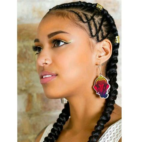 two braids hairstyles ideas trending in february