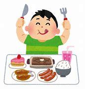 肥満 食事 イラストや に対する画像結果