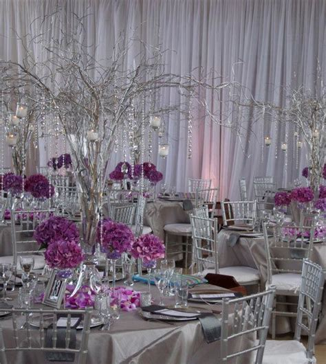 purple and grey wedding plans to add chic charm