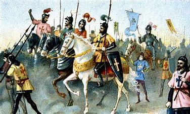 Image result for images crusaders marching on jerusalem
