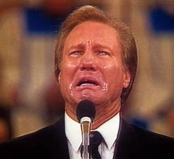 Image result for images crying jimmy swaggart
