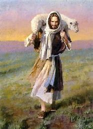 Image result for free pictures of jesus carrying a lamb