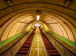 Image result for pedestrian tyne tunnel