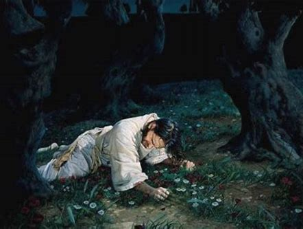 Image result for jesus in garden of gethsemane