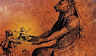 Image result for baal and molech worship in the old testament