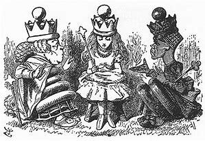 ルイスキャロル 赤の女王 に対する画像結果