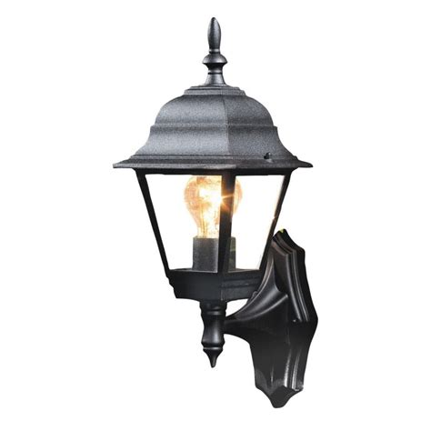 b q penarven outdoor wall light in black wall light