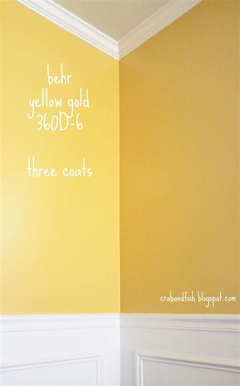 behr yellow gold d three coats kitchen colors