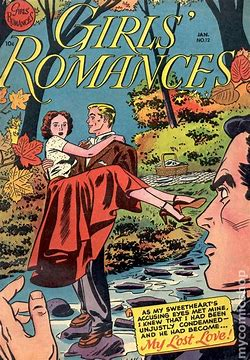 Image result for 50s romance comic book covers images