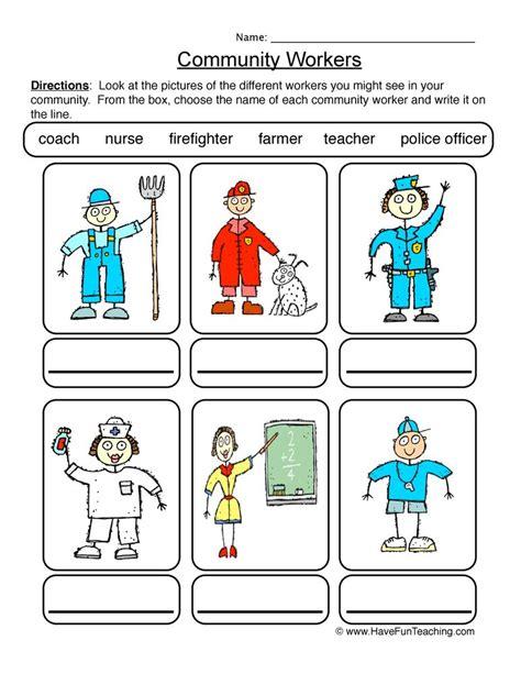 community worksheets teaching social studies worksheets