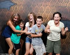 Image result for funny crowds running in terror photos