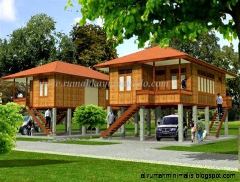 gambar rumah panggung beton minimalis rommy house